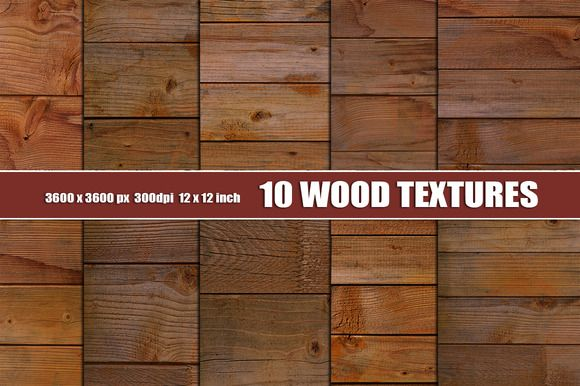 Check out Dark wood texture background set by Area on Creative Market