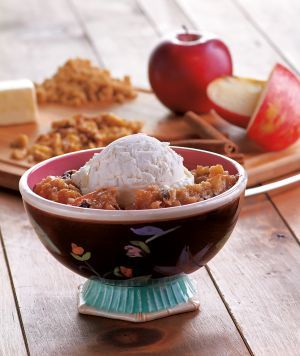 Apple crisp - slow cooker recipe
