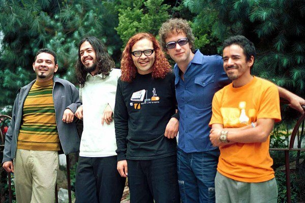 Gustavo Cerati y Cafe Tacuba
