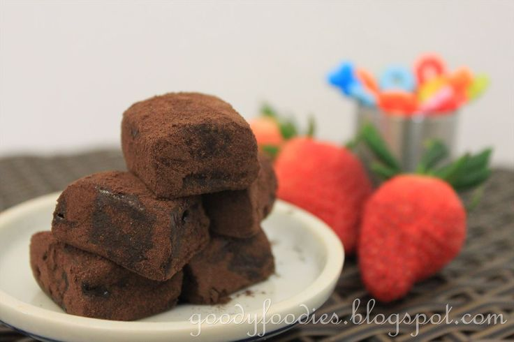 GoodyFoodies: Recipe: Homemade Japanese Nama Chocolate