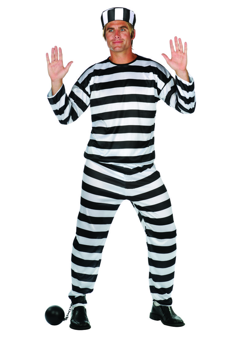 Awesome Costumes Men's Prisoner Of Love Convict Costume just added...