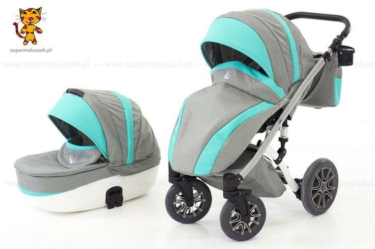 Wózek dziecięcy 3w1 Naxter - niezwykle nowoczesny wygląd, duża wygoda użytkowania - czyli przyjemność zarówno po stronie dziecka, jak i rodzica.  http://supermaluszek.pl/NaXter_3w1_wozek_dzieciecy