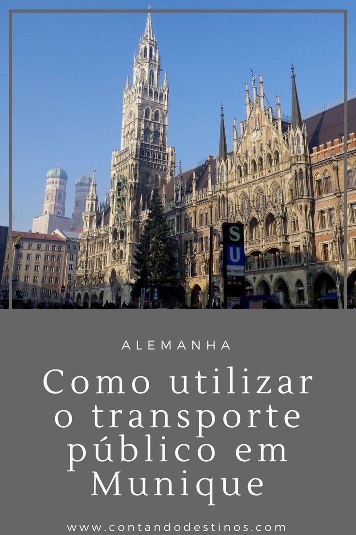 A melhor forma de se locomover em Munique, na Alemanha, é utilizando o transporte público. Saiba como funciona o transporte público em Munique, Alemanha, como utiliza-lo e os tipos de tickets disponíveis.