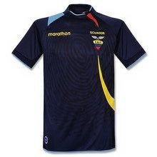Foto de la camiseta de la Selección de Fútbol oficial de Ecuador, Alternativa 2008-2009
