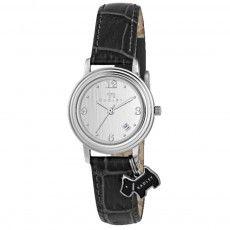 Ladies Radley Darlington Black Leather Strap Watch