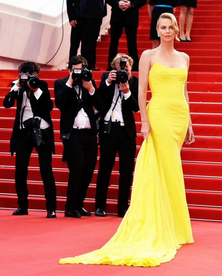 Charlize Theron in Dior Couture at the 'Mad Max' premiere at Festival de Cannes