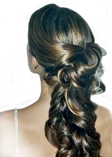 peinados en pelo largo | Fiestas, ocasiones especiales y eventos: PEINADOS DE FIESTA