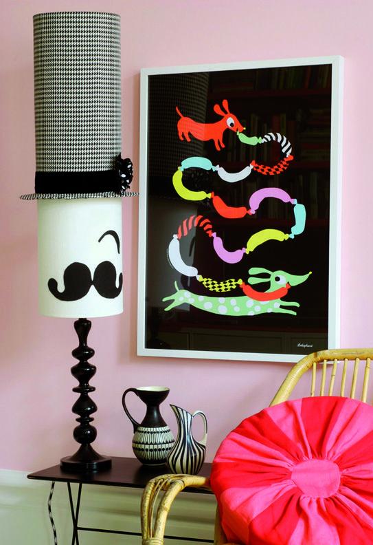 Littlephant Hotdog Poster by: Littlephant by Camilla Lundsten -