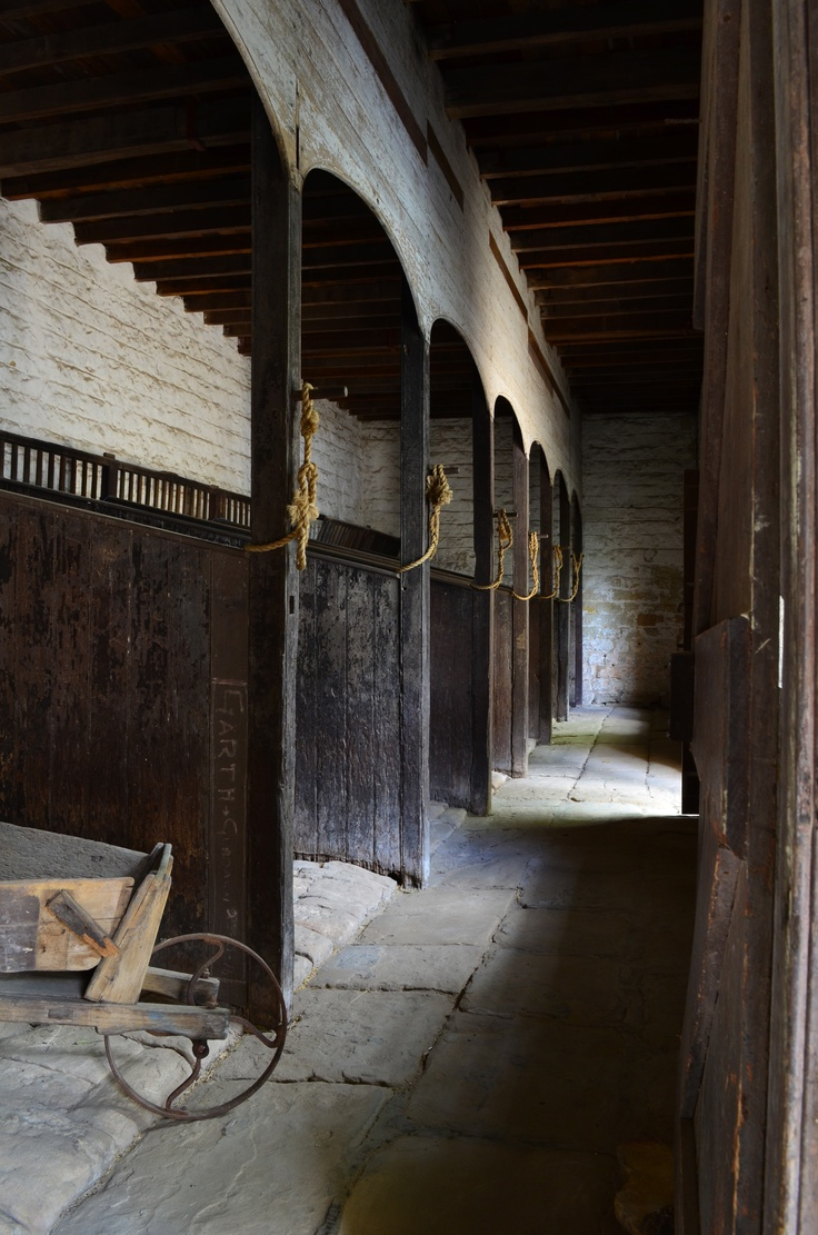 Interior of the stables at Vaucluse House, Sydney. Gothic revival circa 1827. Stephen Hobbs Photography.