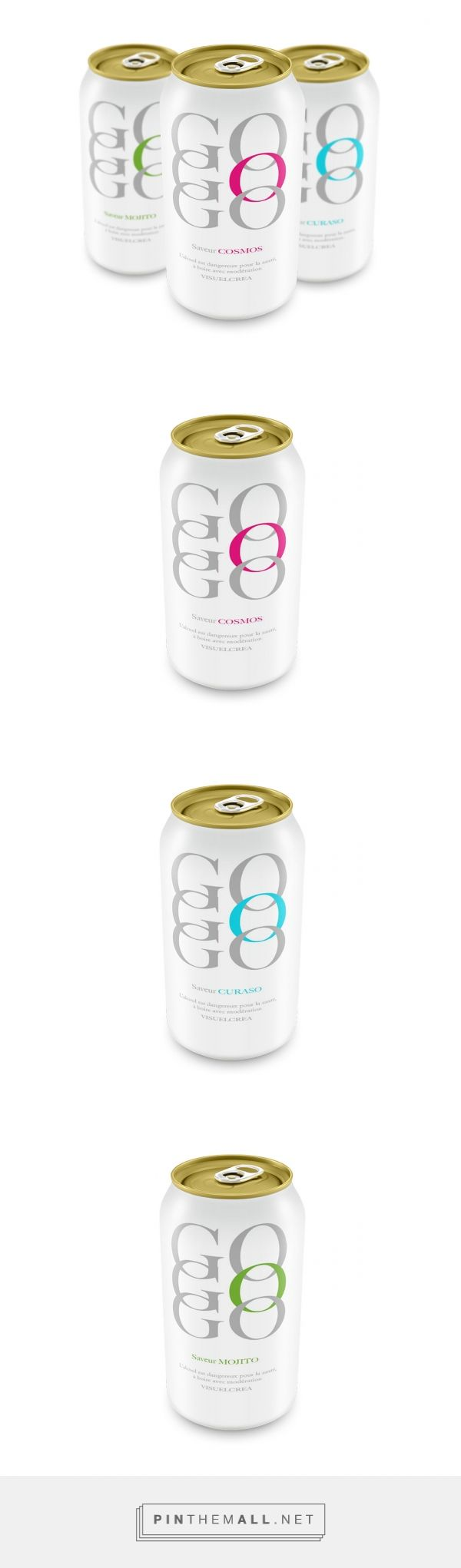 GO GO GO (Concept) - Packaging of the World - Creative Package Design Gallery - http://www.packagingoftheworld.com/2017/02/go-go-go-alcohol.html