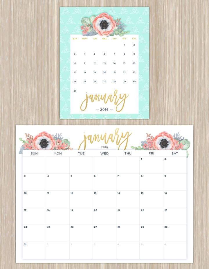 Best  Printable Calendars Ideas On    Calendar