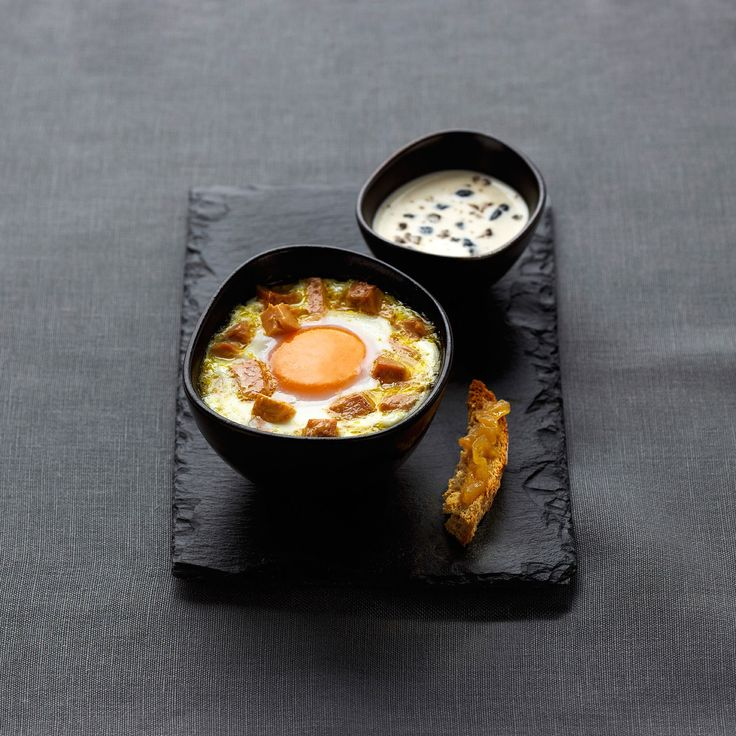Découvrez la recette de l'oeuf cocotte au foie gras