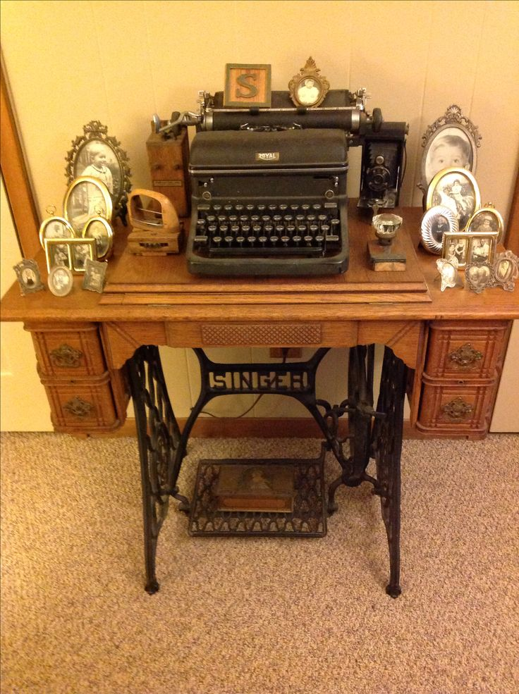 25 Best Ideas About Antique Sewing Tables On Pinterest Antique Sewing Machine Table Sewing
