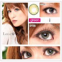 NEO PRINCESS MINT GREEN Circle Lens Fashion Colored Contacts Enlarging Korean Contact Lenses | EyeCandy's
