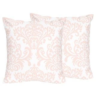 Shop for Sweet Jojo Designs Amelia Collection Pink/White Damask Print 18-inch Accent Throw Pillows (Set of 2). Get free shipping at Overstock.com - Your Online Home Decor Outlet Store! Get 5% in rewards with Club O! - 21146227