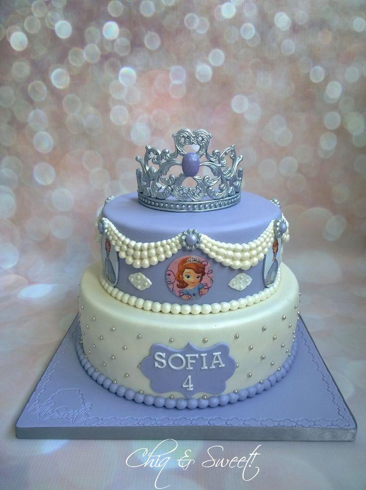 Best 25 Sofia Cake Ideas On Pinterest Princess Sofia