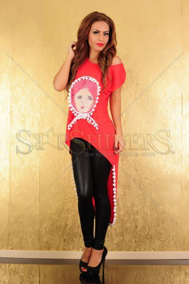 Bluza Ocassion Russian Doll Red