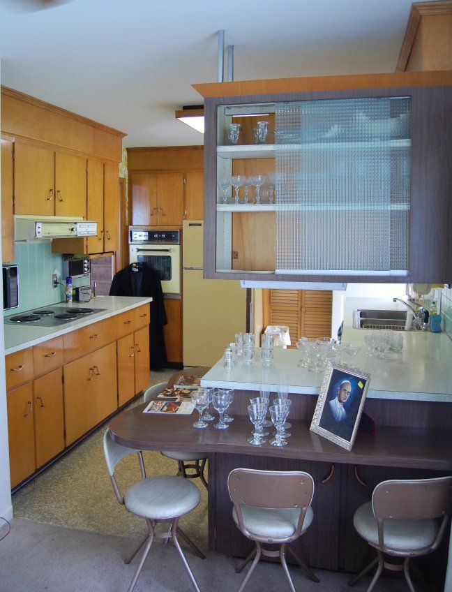 1964 Split Level Time Capsule   Great Midcentury Mailbox And Kitchen