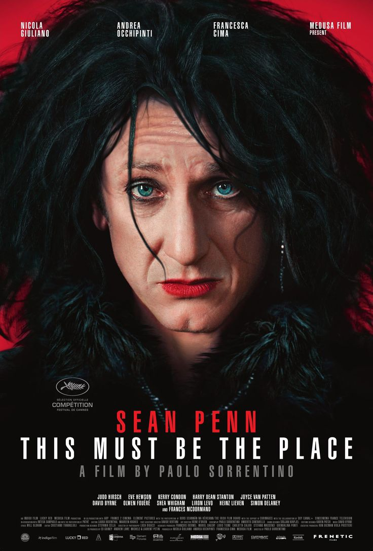 This Must Be The Place, Sean PennMovie Posters, Places 2011, Cinema, Moving Pictures, Film Posters, Seanpenn, Favorite Movie, Sean Penne, Paolo Sorrentino
