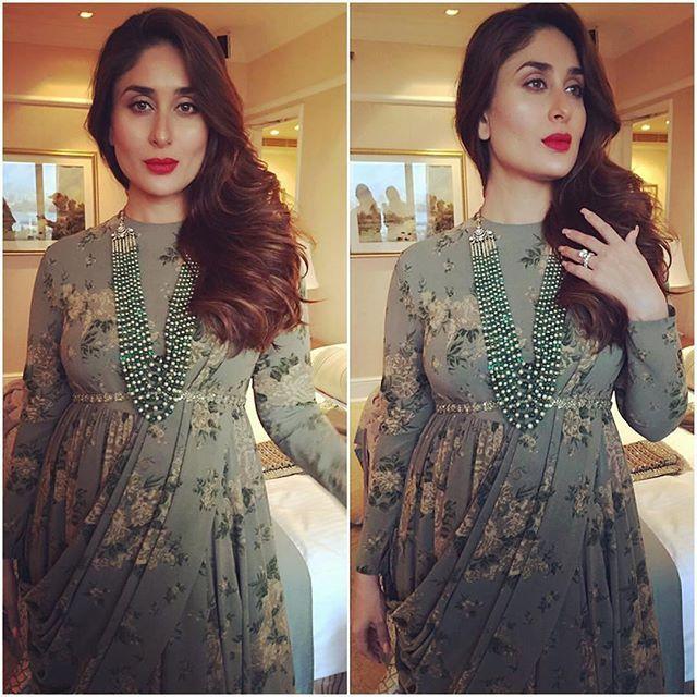 Kareena Kapoor Khan for Sabyasachi during Lakme Fashion Week Grand Finale