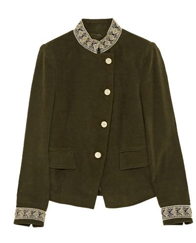 Velours Blazers Veste Zara France En Femme Passementerie Avec RHInr5qIw