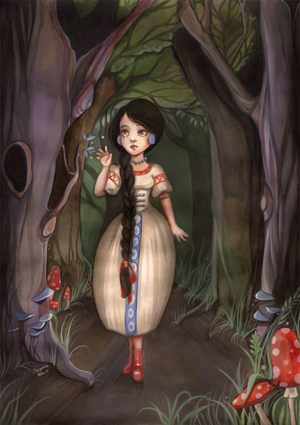 Russian fairy tales famous russian she
