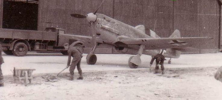 Luftwaffe Dewoitine D.520, France 1942