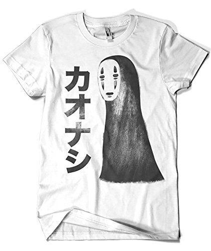 987-Camiseta Kaonashi (SergioDoe) #regalo #arte #geek #camiseta
