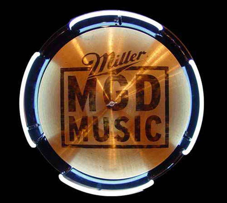 MGD Miller Genuine Draft Drum Symbol Neon Sign, Miller MGD Neon Beer Signs & Lights | Neon Beer Signs & Lights. Makes a great gift. High impact, eye catching, real glass tube neon sign. In stock. Ships in 5 days or less. Brand New Indoor Neon Sign. Neon Tube thickness is 9MM. All Neon Signs have 1 year warranty and 0% breakage guarantee.