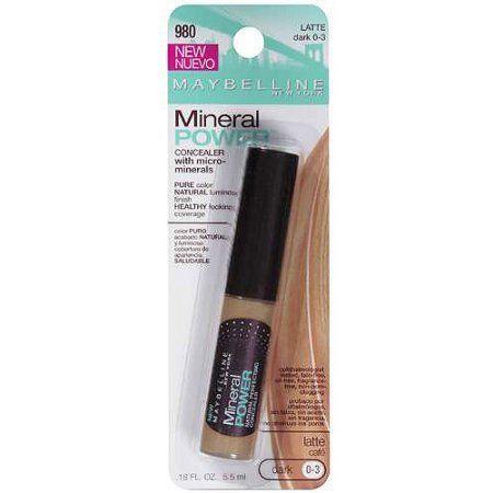 Maybelline Concealer W/Micro-Minerals Mineral Powder, .18 fl oz, Beige