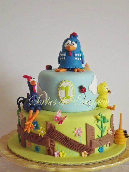 Galinha pintadinha Cake by sonhosdeencantar