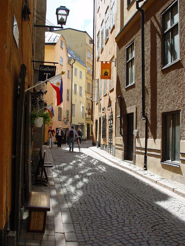 Stocholm - Gamla stan