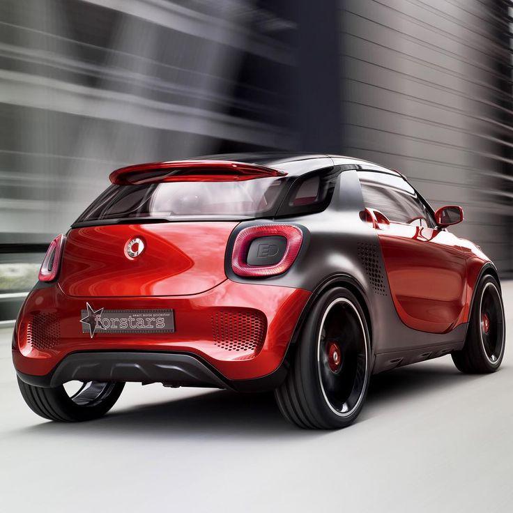 Smart Forstars Concept Smart Car Cars Concept Conceptcar Conceptcars