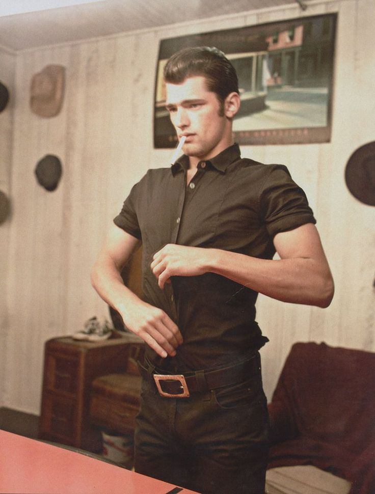 .: Greaser Style, Greaser Guys, Greaser Girls Style, Rockabilly Man, Men Rockabilly Style, Men Rockabilly Hair, Men Rockabilly Fashion, Sean O' Pri, Rockabilly Guys