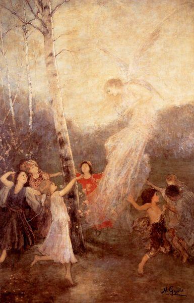Alegría (1883) Nikolaos Gyzis (Grecia, 1842-1901)