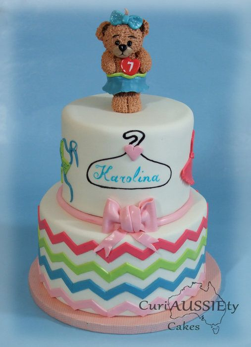 Build a bear cake - by curiAUSSIEtycakes @ CakesDecor.com - cake decorating website