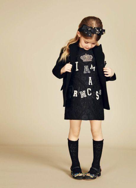 Kid's Wear - Dolce&Gabbana AW 2016/17