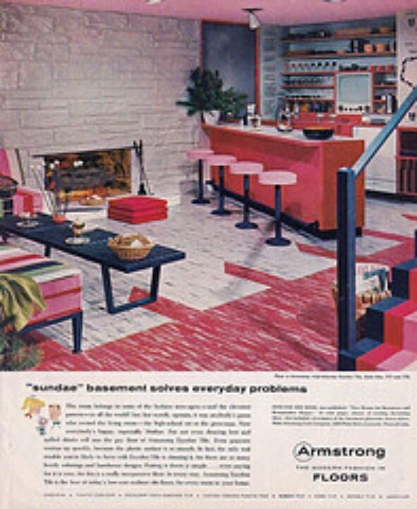 vintage flooring ad