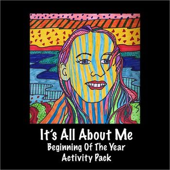 It's All About Me - Beginning Of The Year Activity Pack The perfect way to start the school year.