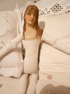 Vintagesavonette: Искусство куклы - Потертый Принцесса