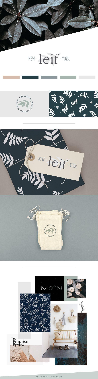 Leif Organic Healing - brandboard for brand concept by Stefani Jessica // branding, moodboard, inspiration, color palette, logo