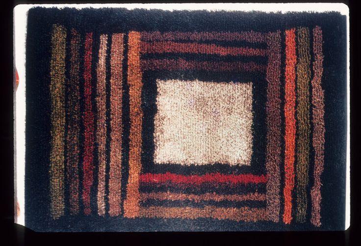 Finnish pile rug; Simberg-Ehrstrom, Uhra