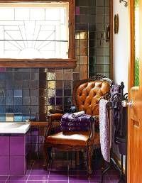 12 eye-catching bathroom tile designs