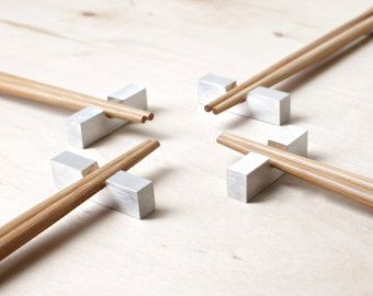 Modern Chopstick Rest Minimalist Home Decor Contemporary Tableware