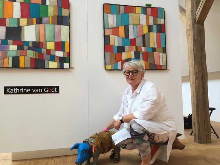 Kathrine van Godt på Art Week 2016 i Kerteminde