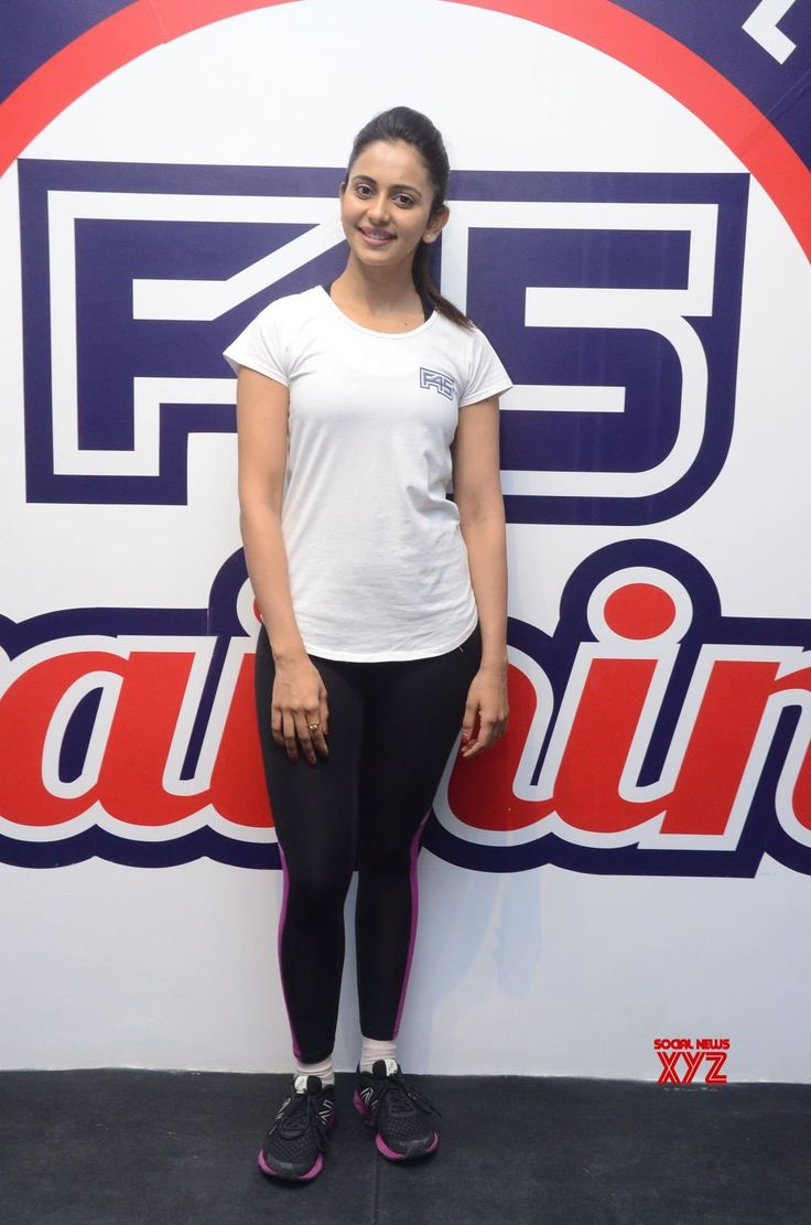 Actress Rakul Preet Singh Stills From F45 Gym Launch - Social News XYZ