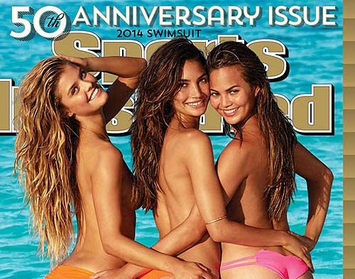 SI Swimsuit Issue 2014 With Nina Agdal, Lily Aldridge & Chrissy Teigen