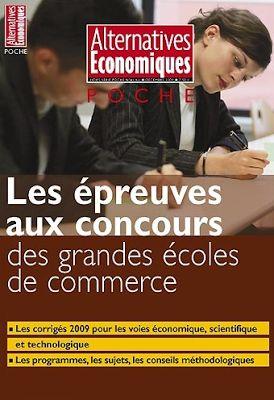 la faculté: Télécharger Livre : LES ÉPREUVES AUX CONCOURS DES GRANDES ÉCOLES DE COMMERCE 2009