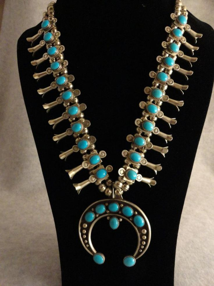 American Indian Jewelry for Sale | ... Blossom Turquoise Necklace Native American Indian Jewelry | eBay