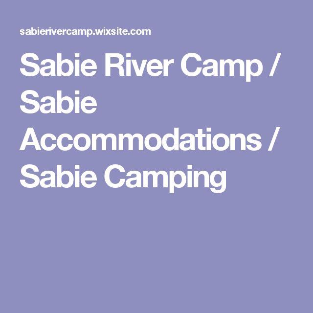 Sabie River Camp / Sabie Accommodations / Sabie Camping